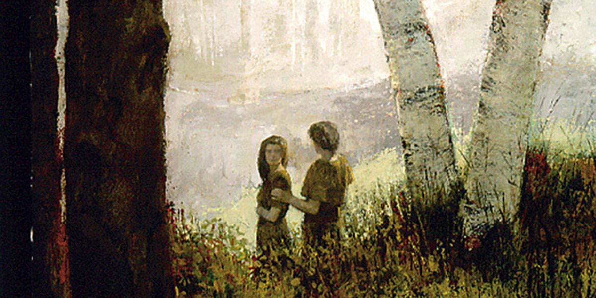 Adam and Eve, by Douglas Fryer