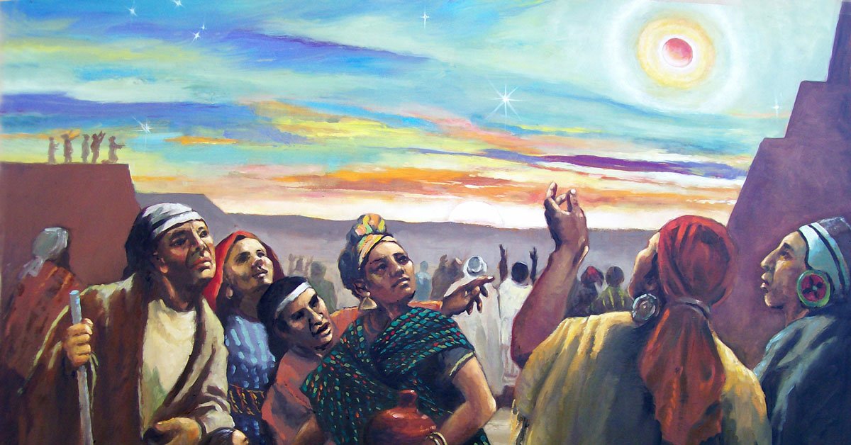 One Day, One Night, and One Day, by Jorge Cocco. Image via ChurchofJesusChrist.org
