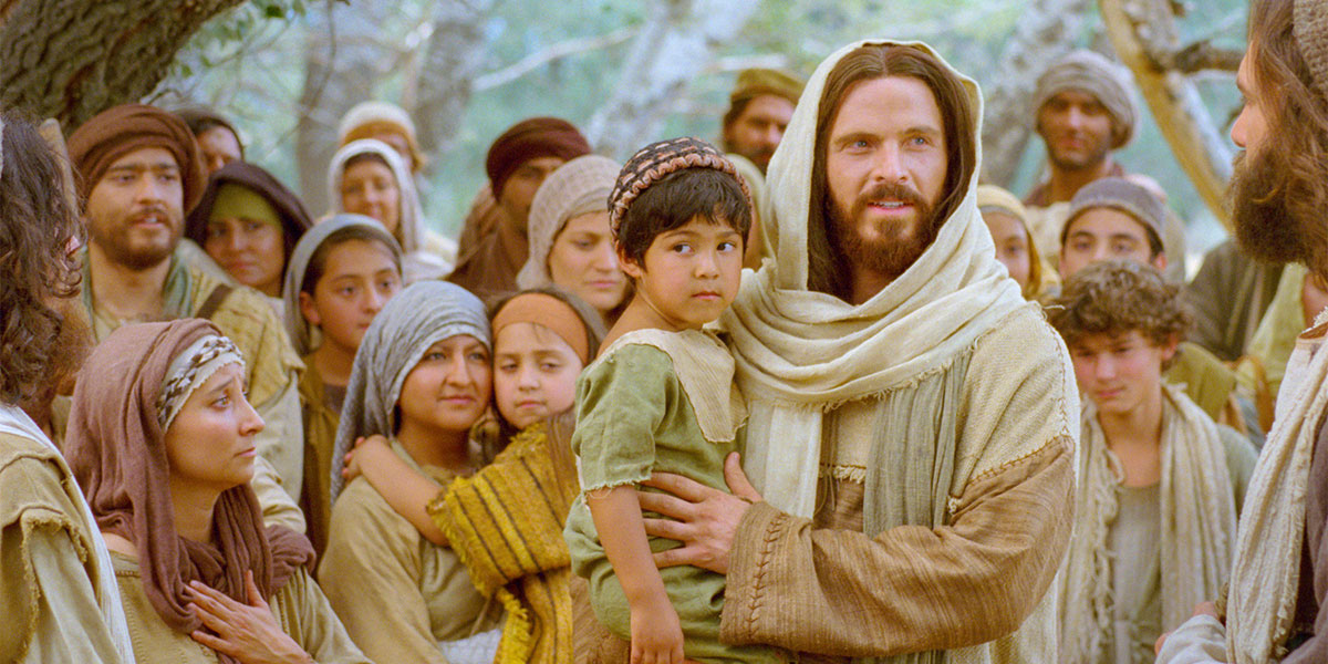 Jesus and the Little Children. Image via Gospel Media Library.