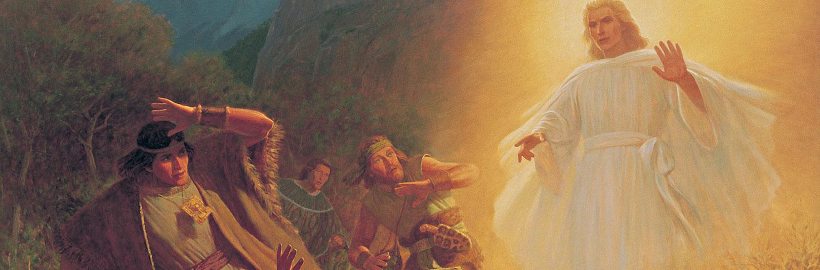 Mosiah 25 27 Alma 36
