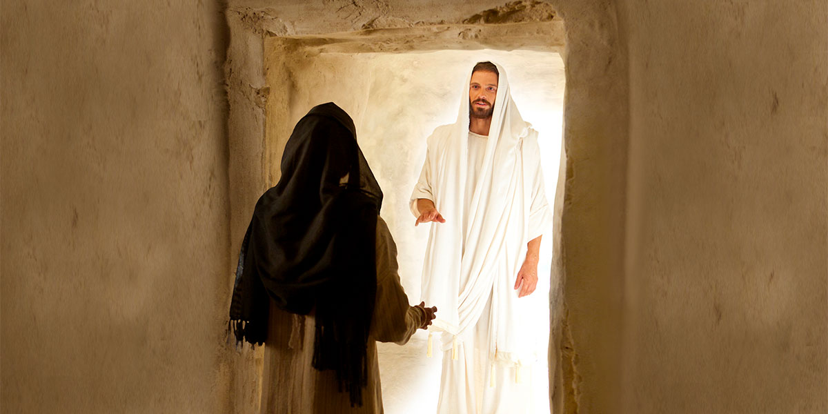 Image of the Resurrection via Gospel Media Library