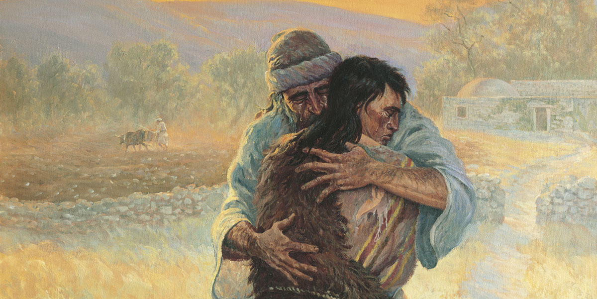 The Prodigal Son by Clark Kelley Price. Image via ChurchofJesusChrist.org