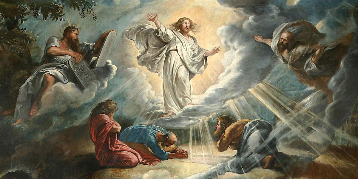 The Transfiguration of Christ by Peter Paul Rubens. Image via Wikimedia Commons.