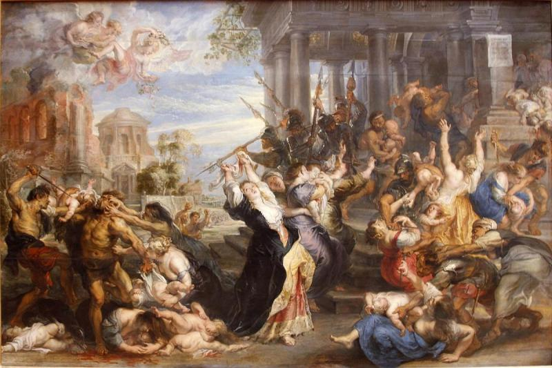 Slaughter of the Innocents by Rubens. Image via Wikimedia Commons