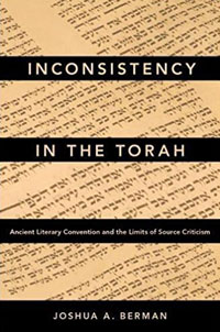 cover of Inconsistency in the Torah