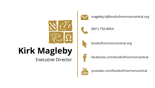 Kirk Magleby business card