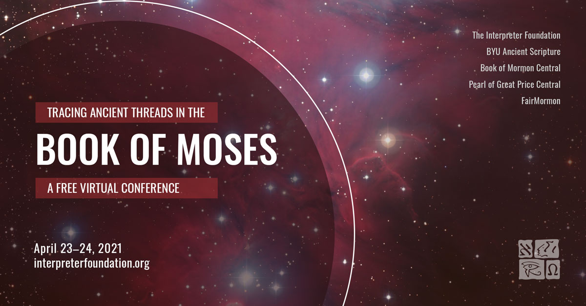 Book of Moses conference flyer