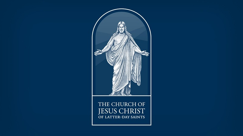 New Church Symbol representing the Risen Lord atop a cornerstone. Image via ChurchofJesusChrist.org