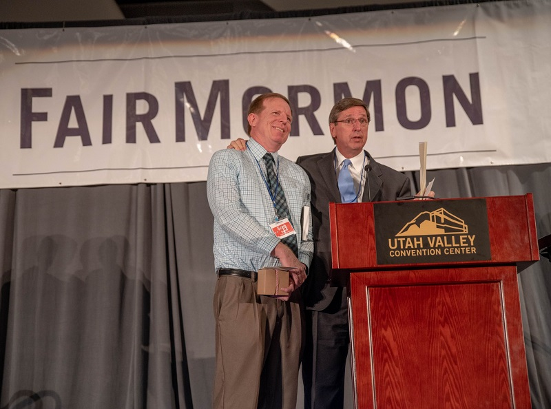 2018 FairMormon Conference with Elder Pearson and President Scott Gordon.