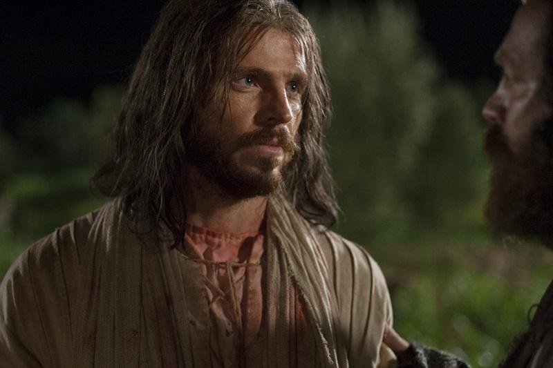 Judas betraying Jesus Christ. Image via LDS Media Library.
