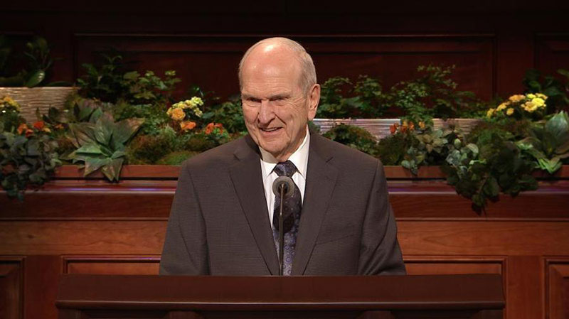 Photograph of President Russell M. Nelson via churchofjesuschrist.org