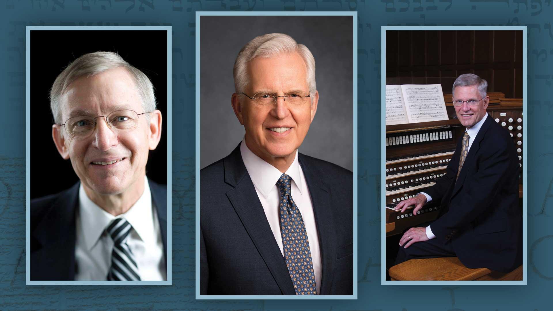 Musical Fireside featuring D. Todd Christofferson, John W. Welch, and James B. Welch.