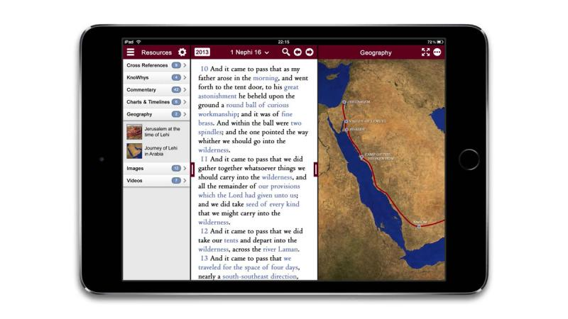 Prototype design for the Interactive Scriptures App