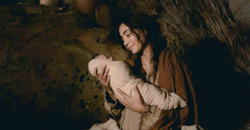 Mary and the Christ child. Image via comeuntochrist.org