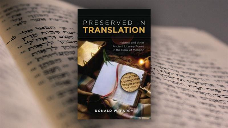 Cover of Don Parry's Preserved in Translation