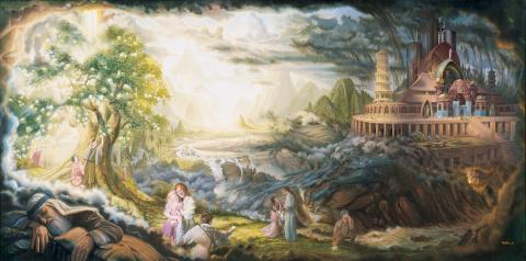"""""""Lehi's Dream"""" by Stephen Lloyd Neal"""