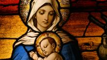 The Virgin Mary and the Christ Child. Image via Adobe Stock.