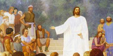 Third Nephi: These Twelve Whom I Have Chosen, by Gary L. Kapp. Image via ChurchofJesusChrist.org