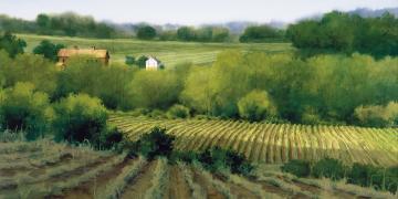 Martin Harris Farm, by Al Rounds. Image via Church of Jesus Christ.