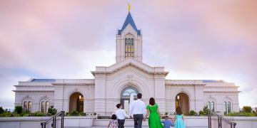 Image of Fort Collins Colorado Temple via Church of Jesus Christ.