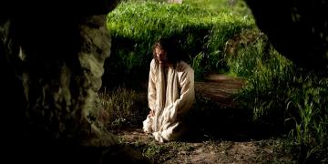 Jesus Christ in Gethsemane, via Gospel Media Library