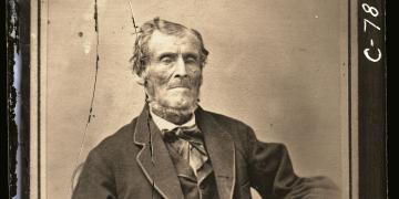Photograph of Martin Harris via lds.org