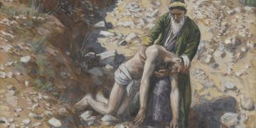 The Good Samaritan by James Tissot