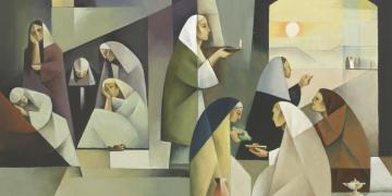 The Parable of the Ten Virgins by Jorge Cocco
