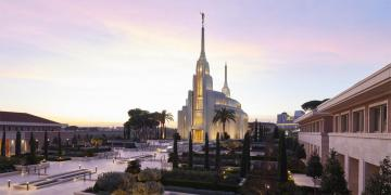 The Rome Italy Temple. Image via the Church Newsroom.