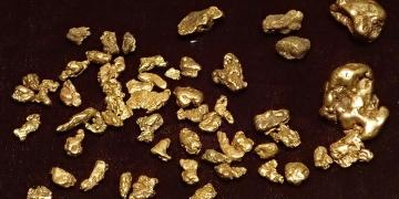 Photo of gold nuggets by James St. John. Image via Wikimedia Commons.