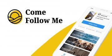 Screenshot of the Come Follow Me app